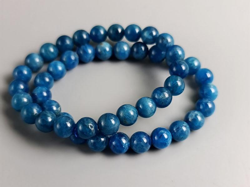 perles apatite néon 8 mm