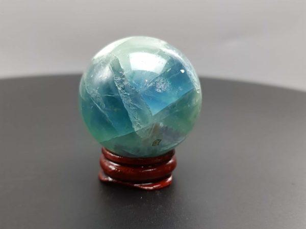 Sphère de fluorite