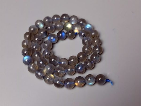 perles labradorite AA+ 8 mm