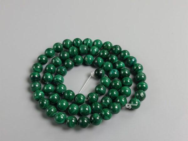 perles ronde malachite 6 mm