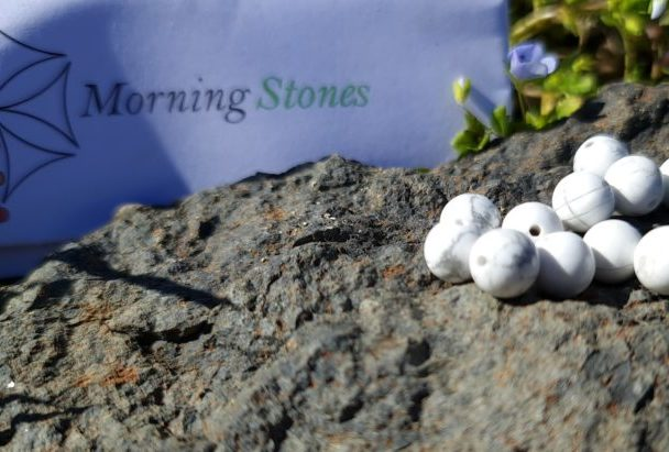 perle howlite 8 mm