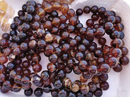 perles ambre baltique